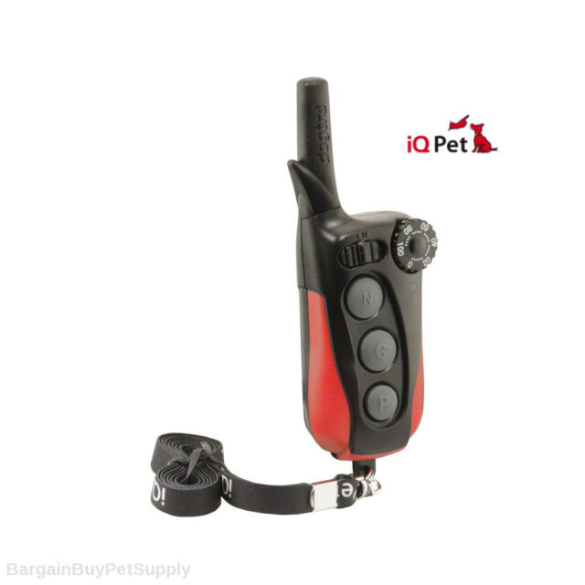 Dogtra iQ-PLUS Replacement Remote Transmitter with Lanyard Black