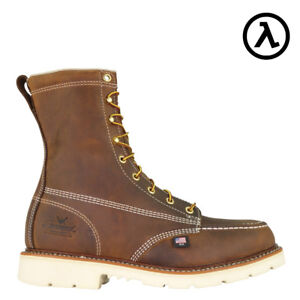 THOROGOOD-AMERICAN-HERITAGE-MOC-amp-STEEL-TOE-EH-WORK-BOOTS-804-4378-ALL-SIZES