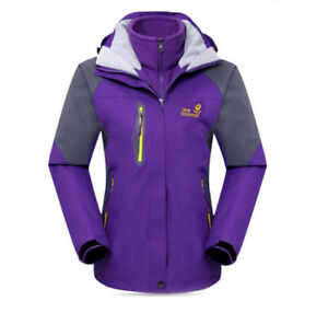 D78-Women-Lady-Purple-Ski-Snow-Snowboard-Winter-Waterproof-Jacket-6-8-10-12-14