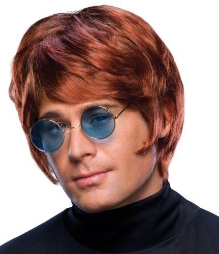 FANCY DRESS WIG ~ MENS POP STAR WIG BROWN