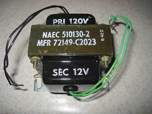 New Freed Transformer 120V 60Hz, 5101302 ZH25