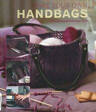 MAKE YOUR OWN HANDBAGS ~~ Bag Pattern Book ~~ by Celine Dupuy & Dominique Turbe