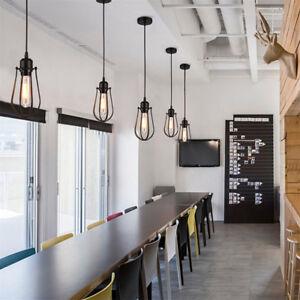 Industrial Vintage Pendant Light Kitchen Bar Hanging Ceiling Lights