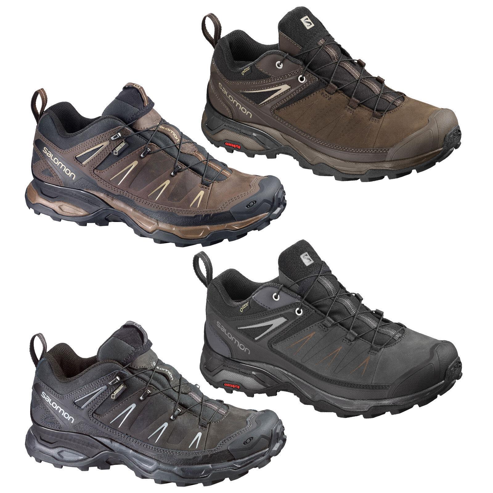 Salomon x Ultra Men's Hiking Boots Gore Tex Outdoor shoes  Leisure Hikking New  best reputation