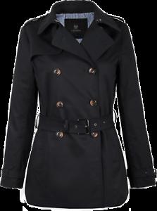 brand new c7290 bd05a Details zu Damen Trenchcoat Kurzmantel Trench leichte Jacke Übergang mit  Gürtel kurz