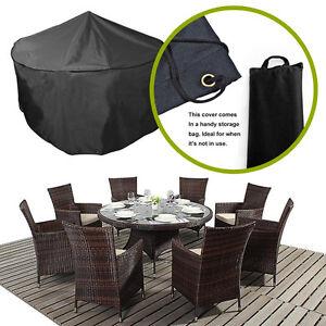 premium dining set garden furniture covers for round or rectangular
