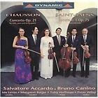 Chausson: Concerto, Op. 21; Saint-Saëns: Sonata no. 1, Op. 75 (1994)