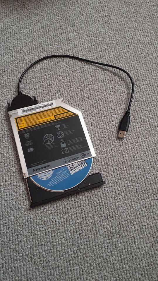 USB, USB DVD brænder - eksternt drev, Perfekt