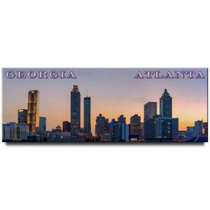 Atlanta-panoramic-fridge-magnet-Georgia-travel-souvenir