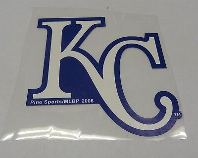 MLB Kansas City Royals KC Decal Window Static-Cling Sticker Car or Truck