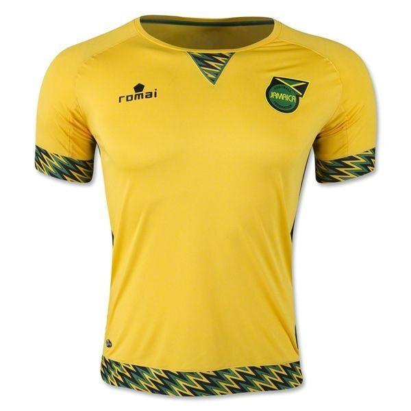 Jamaica SoccerFootbtutti Jersey Home Shirt