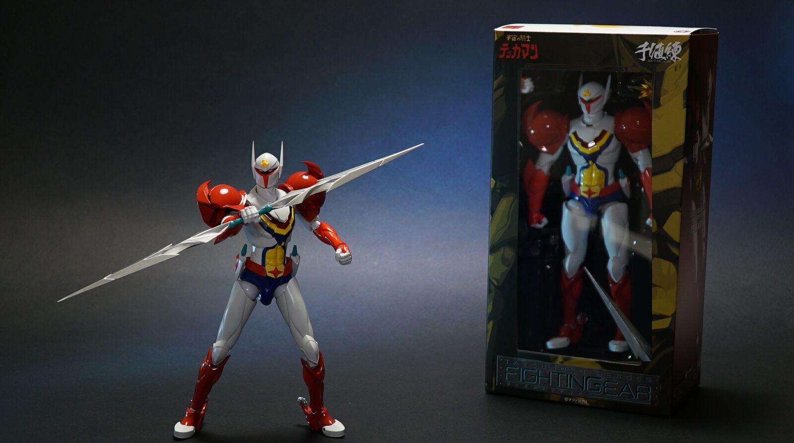 Space Knight Tekkaman Tatsunoko Fightingear Sentinel Die Cast Action Figure 18cm