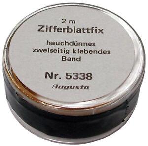 Zifferblatt-Fix-Doppelseitiges-Spezialband-zum-Uhren-Zifferblaetter-Befestigen