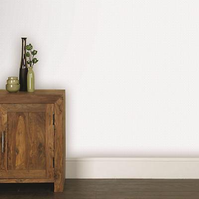 Superfresco Paintable Beadboard White Durable Heavy Duty Wallpaper