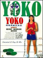 2 X ORIGINAL YOKO HEIGHT INCREASER INSOLES (NATURAL WAY TO TALL)100% GUARANTEE