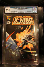 Star Wars: X-wing Rogue Squadron #1/2, CGC 9.8! Wizard Mail Away!