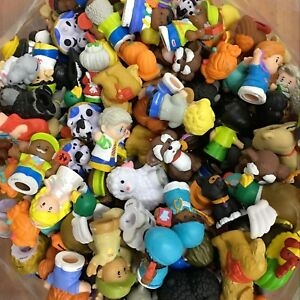 Random-25PCS-Lot-Fisher-Price-LITTLE-PEOPLE-Figures-Toy-amp-Animals-Baby-Kid-Doll