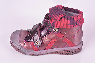 Babybotte Acteur 2 Niñas Rosa Oscuro Botas De Cuero UK 5.5 EU 22 nos 6