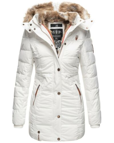 Marikoo Damen Winter jacke Parka Mantel Outdoorjacke Steppjacke Lange sehr warm