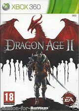 DRAGON AGE II (2) for Xbox 360 - with box & manual - PAL