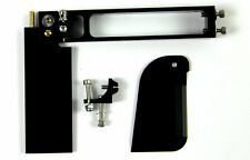 NEW CNC Rudder And Turn Fin Set For Mono1 Rc Boat  BLACK