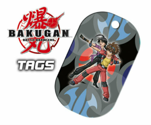 BAKUGAN BATTLE BRAWLERS TAGS TRADING CARD DOG TAGS 12 PACKS SERIES 2 NEW