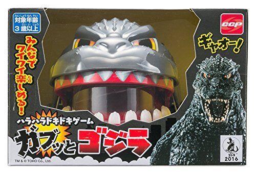 NEW CCP Godzilla panic game Shin Gabutto Toy Party from Japan