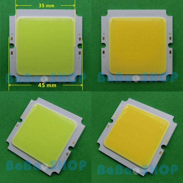 15W Cold 6000K / Warm 3000K White Square COB LED Spotlight Lamp Bulb + AC Driver
