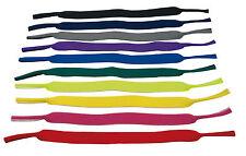 2x Cinta de gafas Neopreno negro Cadena brillante Cordón para las Lectura Neu