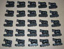 Lionel 3656 Black Cows PKG. OF FIVE