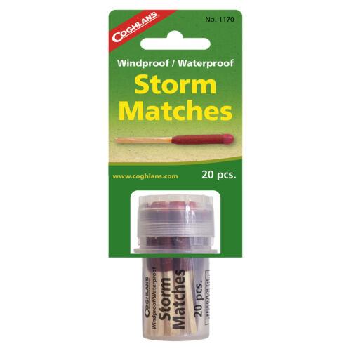 Waterproof Storm Matches #1170 Coghlan/'s Windproof