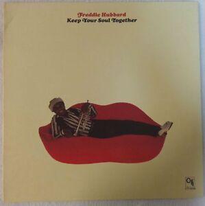 FREDDIE-HUBBARD-1973-LP-KEEP-YOUR-SOUL-TOGETHER-CTI-6036-VG-CLEAN-LABELS-JAZZ