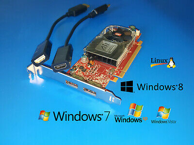 Dell Inspiron 518 519 530 531 537 545 546 560 580 620 HD Dual Display Video Card