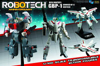 Macross Robotech Rick Hunter Gbp-1j Heavy Armor Veritech 1/100 30th Ann Red