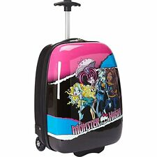 Licensed Monster High Hard Shell ABS Trolley Carry On Luggage/Suitcase