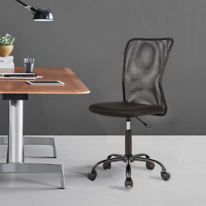 Peachy Details About Black Mesh Fabric Office Computer Desk Chair Swivel Adjustable Rolling Ergonomic Caraccident5 Cool Chair Designs And Ideas Caraccident5Info
