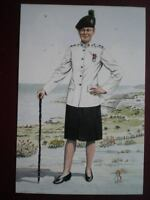 POSTCARD 1ST BN THE ROYAL IRISH REGT  - LIEUTENANT - NO 3 DRESS CYPRUS 1993