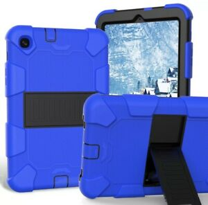 For-Samsung-Galaxy-Tab-A-10-1-SMT510-2019-Shockproof-Armor-Stand-Case-Blue-Black