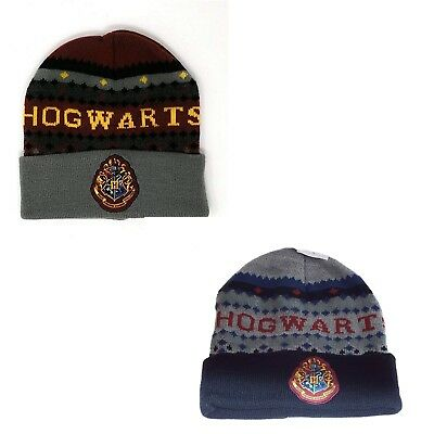Bonnet Hogwarts Harry Potter Adulte. Taille Unique - Doublé - 2 Coloris Buon Sapore