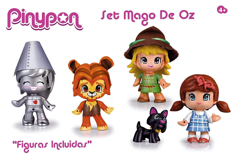 Pinypon Set Mago de OZ con los personajes Pin  y Pon del cuento -Famosa 700013231  acquista la qualità autentica al 100%