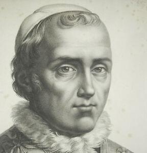Sa-Holiness-The-Pope-Leon-XII-Dad-Engraving-c1830-Print-Bertrand-Sc-P-Olagnon