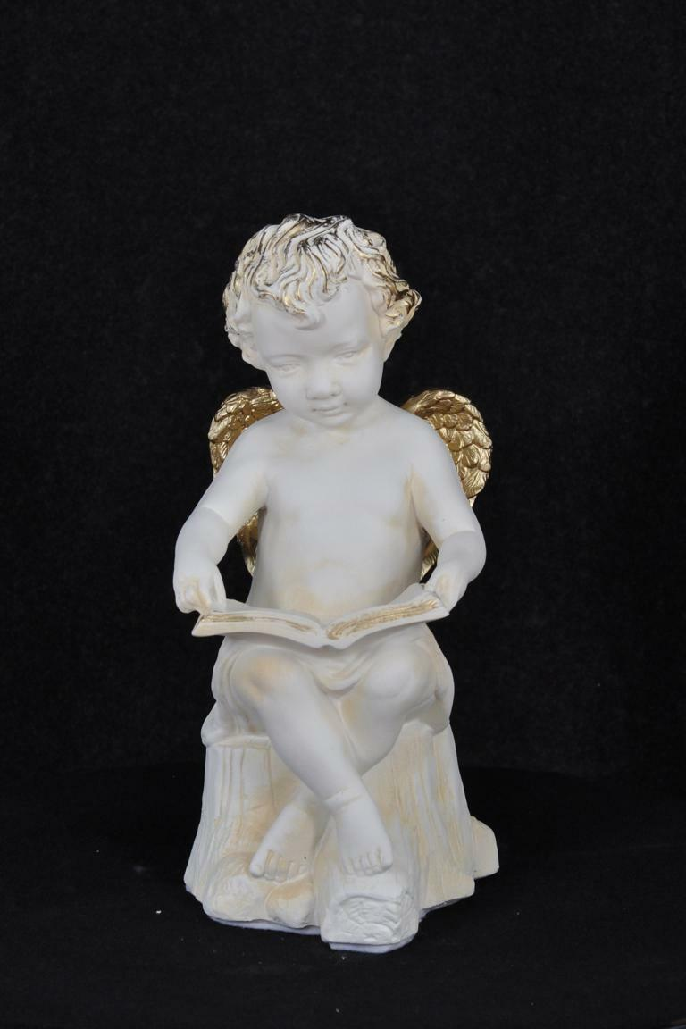 Figur Skulptur Engel Skulpturen Figuren Statue Statuen 41,5cm Design PG0622 Neu