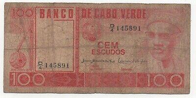 1977 Pick 55 Cape Verde 55s 500 Escudos SPECIMEN UNC