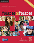 Face2Face Elementary Student's Book with DVD-ROM by Chris Redston, Gillie Cunningham (Mixed media product, 2012)