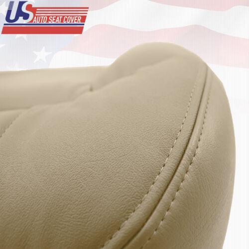 2000 2001 2002 GMC Yukon XL 1500 Driver /& Passenger Bottom Vinyl Seat Cover Tan