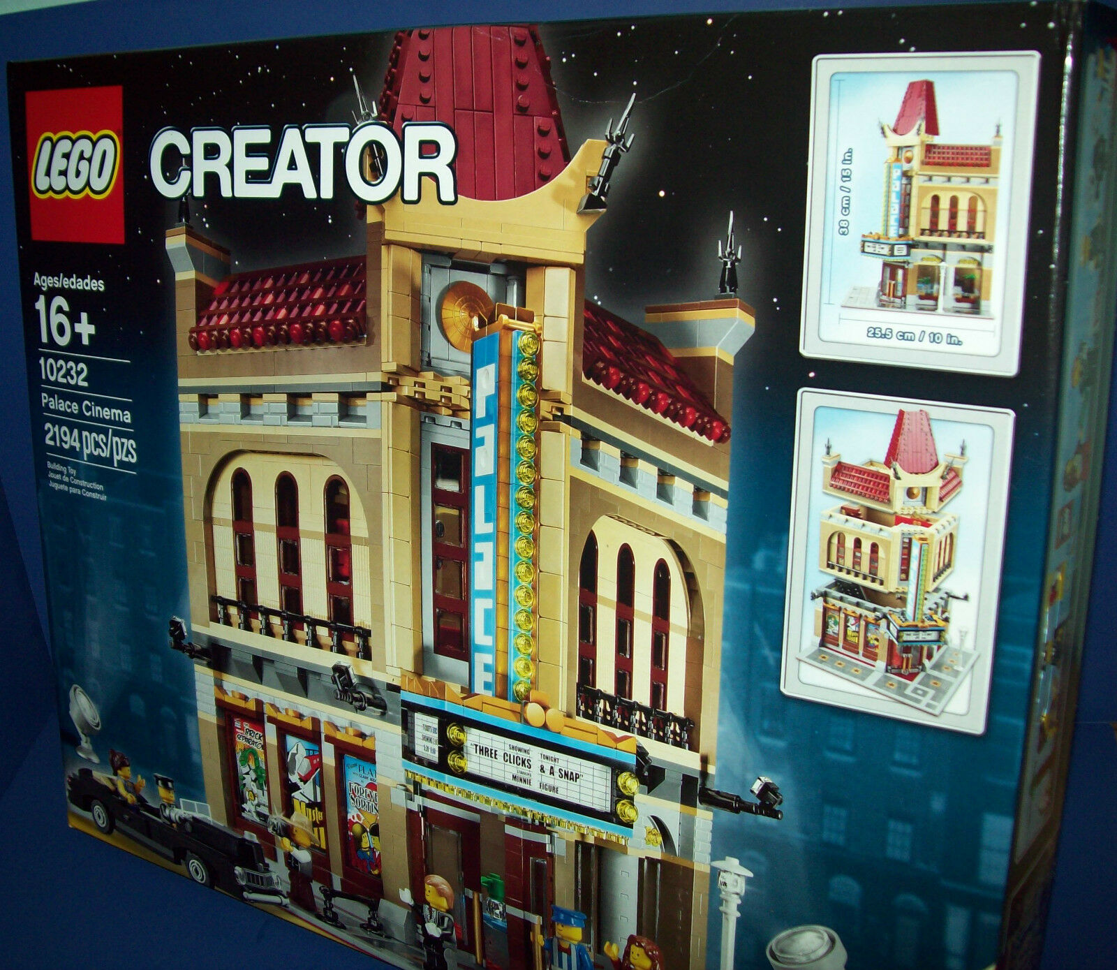Lego Creatore 10232 Palazzo Cinema Nuovo e Sigillato Expert Nuovo Inscatolato