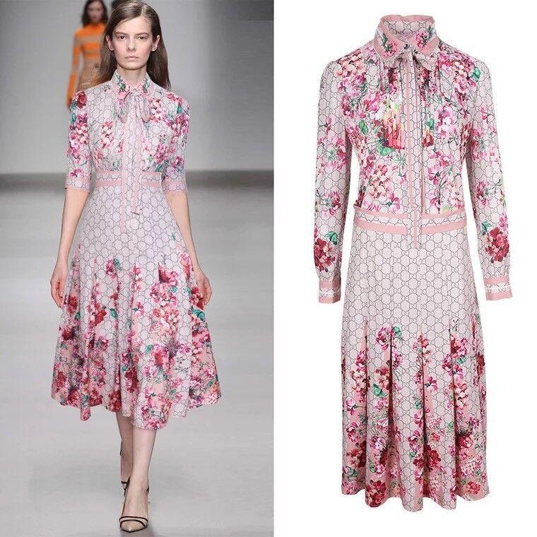 DMS 07 damen RUNWAY designer inspirot SUMMER DRESS plus Größe