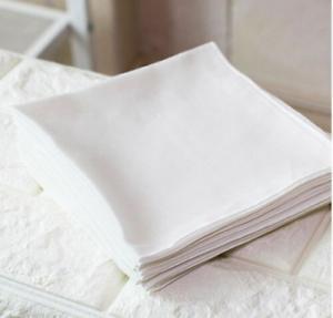 Hankie SILK Pocket Square Handkerchief MENS Hanky IVORY WHITE