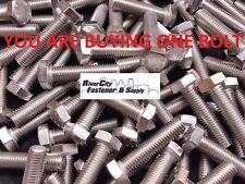 10 Bolts 12mm x 45mm M12-1.75x45 Stainless Steel Hex Head Cap Screws
