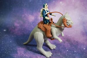 VINTAGE Star Wars COMPLETE CLOSED BELLY TAUNTAUN + ACTION FIGURE KENNER reins